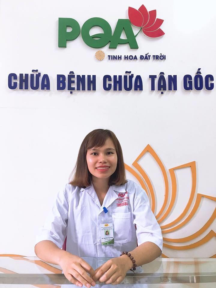 dược sĩ tư vấn Trinh
