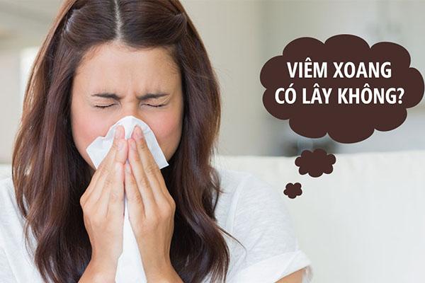 Giải đáp câu hỏi: Bệnh viêm xoang có lây không?