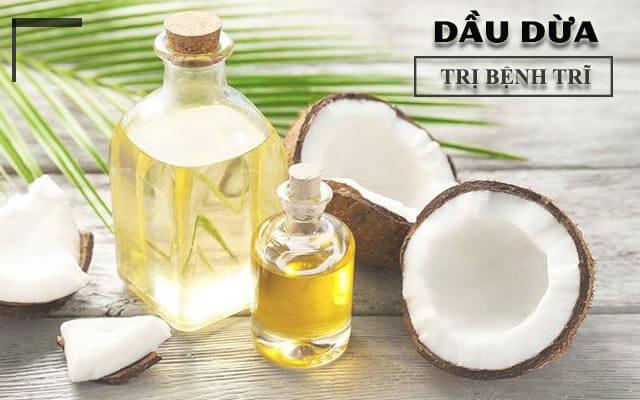Bạn đã biết cách chữa bệnh trĩ đơn giản từ dầu dừa?