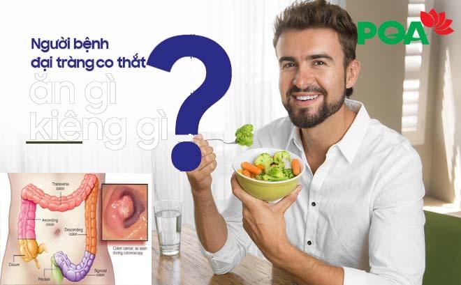 Đừng bỏ qua: Viêm đại tràng co thắt nên ăn gì? Kiêng gì?