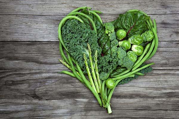 nên ăn rau xanh thường xuyên