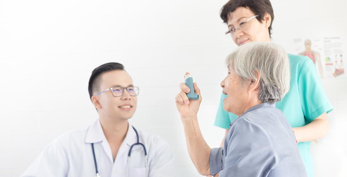 Nhận định chăm sóc bệnh nhân hen phế quản