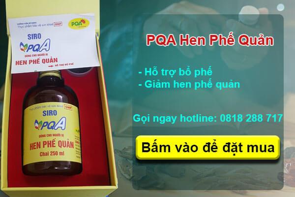 PQA hen phế quản chữa bệnh hen suyễn hiệu quả