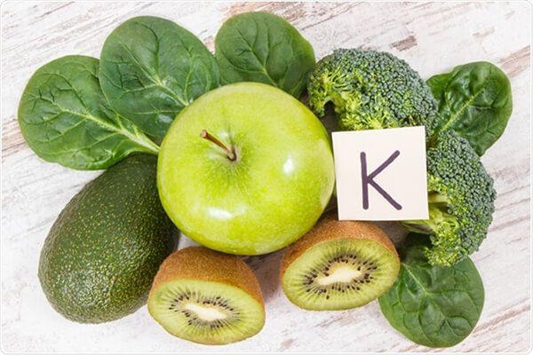 Bổ sung vitaminK cho người cơ thể người