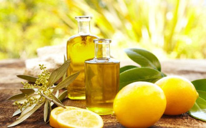 dầu ô liu kết hợp với chanh tươi chữa táo bón nhanh hiệu quả