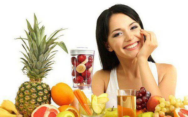Thay đổi chế độ ăn uống cải thiện nóng trong người