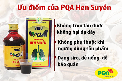 ưu điểm của pqa hen suyễn