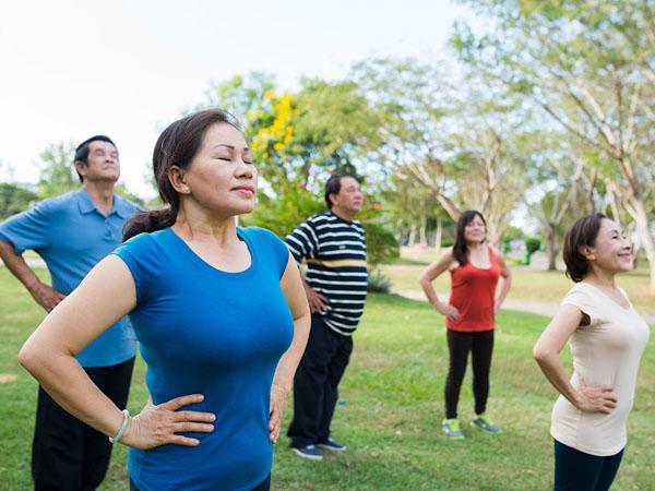 tập thể dục đẩy lùi hen suyễn