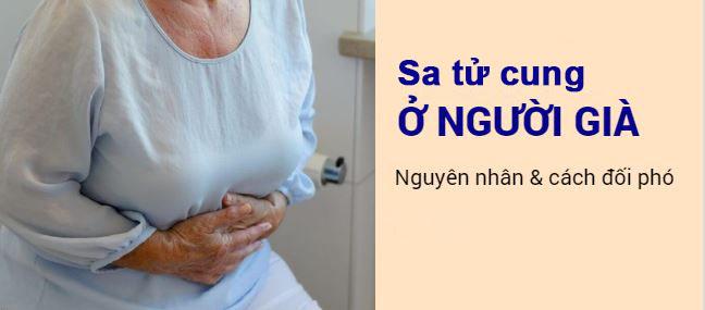 dấu hiệu sa tử cung ở người già
