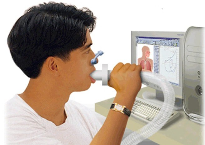 đo chức năng thông khí chẩn đoán COPD