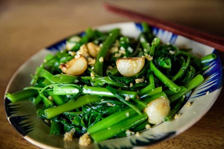 Bệnh trĩ có nên ăn rau muống không? Loại bỏ trĩ với 5 mẹo đơn giản