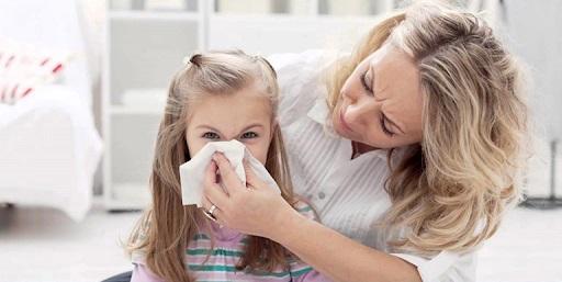 viêm mũi dị ứng ở trẻ em