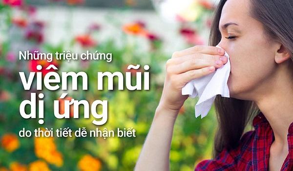 viêm mũi dị ứng thời tiết