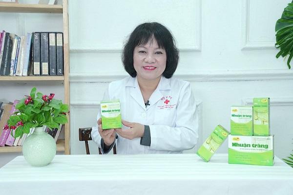 Bác sĩ Nguyễn Thị hằng nói về sản phẩm pqa nhuận tràng