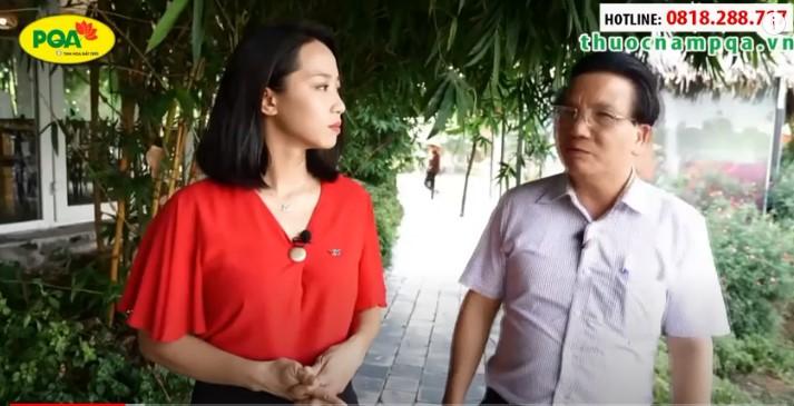 PGS.TS Trần Quốc Bình nói gì về hiệu quả của sản phẩm PQA Hen Suyễn?