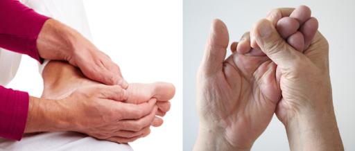 bệnh tê bì chân tay ở người tiểu đường