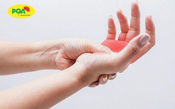 tê tay chân là biểu hiện của bệnh đa xơ cưng