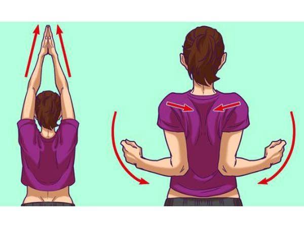 Bài tập xoa bả vai hỗ trợ giảm đau thoái hóa cổ