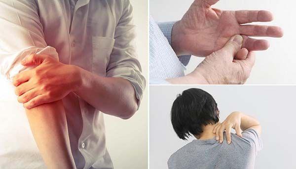 Xoa bóp cánh tay để giảm đau thoái hóa đốt sống cổ
