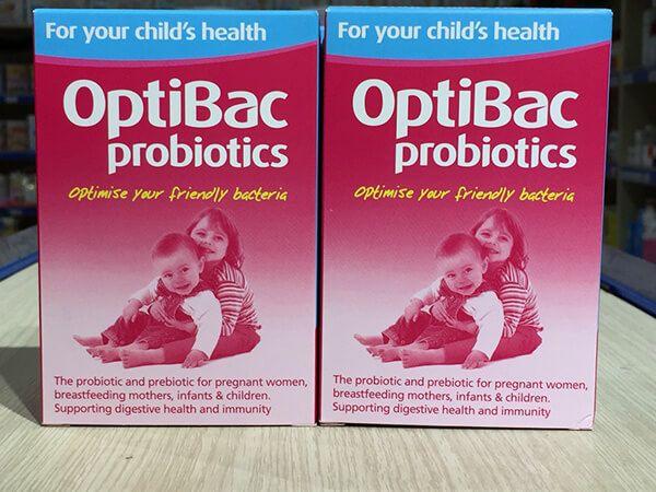 OptiBac cho trẻ em bị táo bón