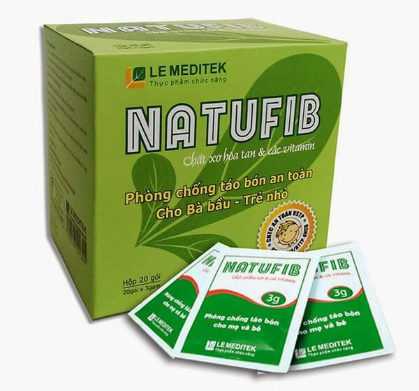 Thực phẩm chức năng trị táo bón Natufib