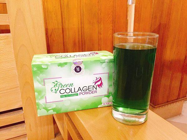 Thực phẩm chức năng trị táo bón Green Collagen Power