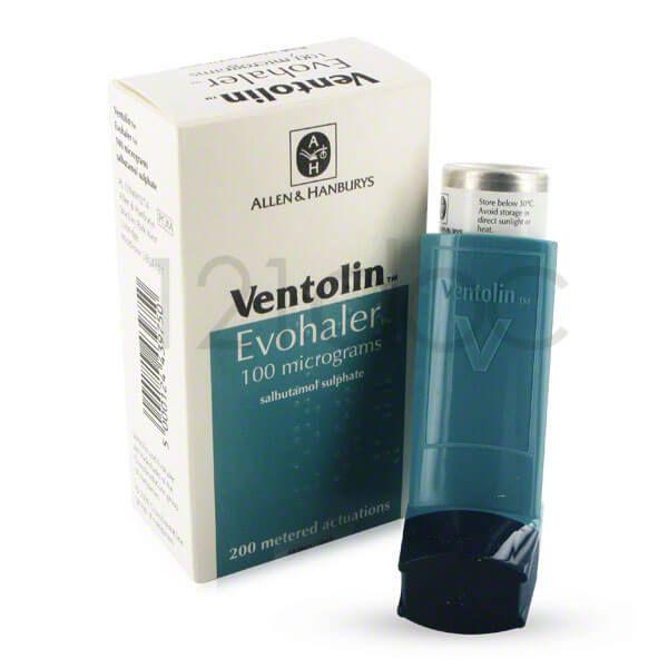 Thuốc Ventolin ngăn ngừa các cơn hen cấp tính