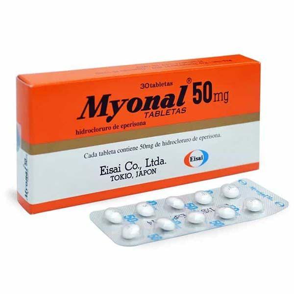 Thuốc giãn xương khớp Myonal - Hỗ trợ giảm cơ cứng khớp xương