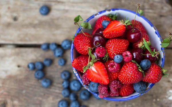 Các loại quả mọng cung cấp vitamin và khoáng chất cho người thoái hóa