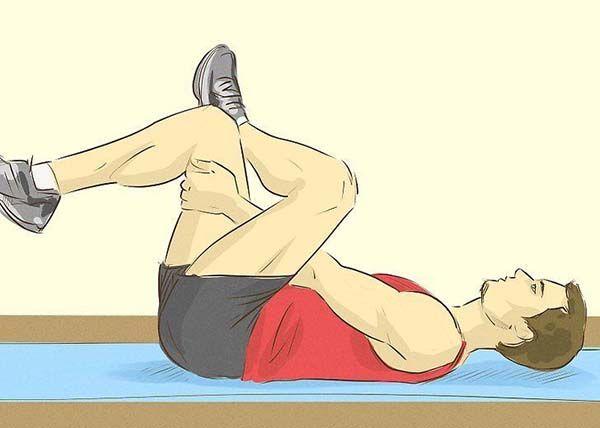 Bài tập kéo giãn cơ hình lê