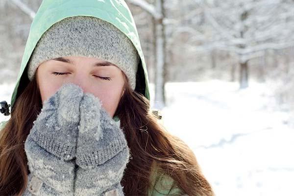 Giữ ấm cơ thể cho bệnh nhân COPD