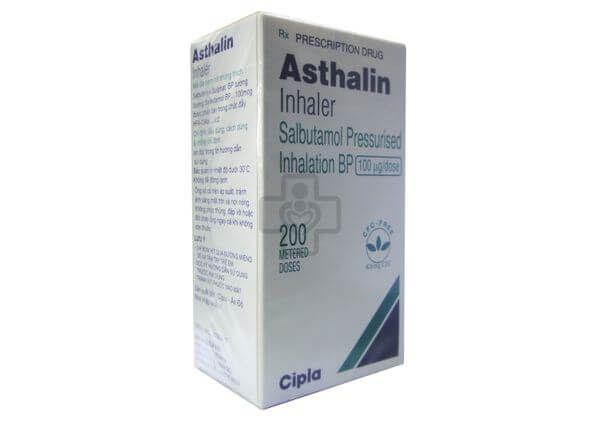 Thuốc xịt hỗ trợ người bị hen suyễn Asthalin