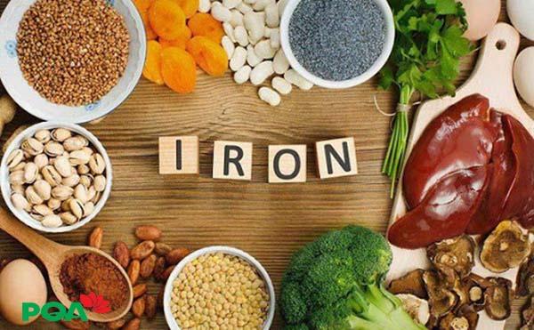 bệnh trĩ nên ăn gì - bổ sung sắt