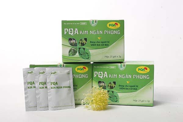 PQA Kim Ngân Phong - Hỗ trợ chữa nổi mề đay hiệu quả
