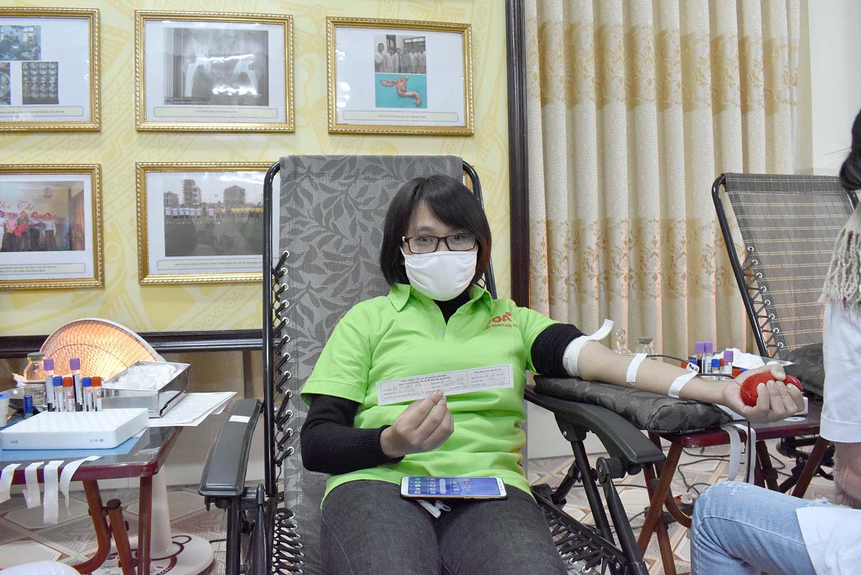 hiến máu tình nguyên 2020
