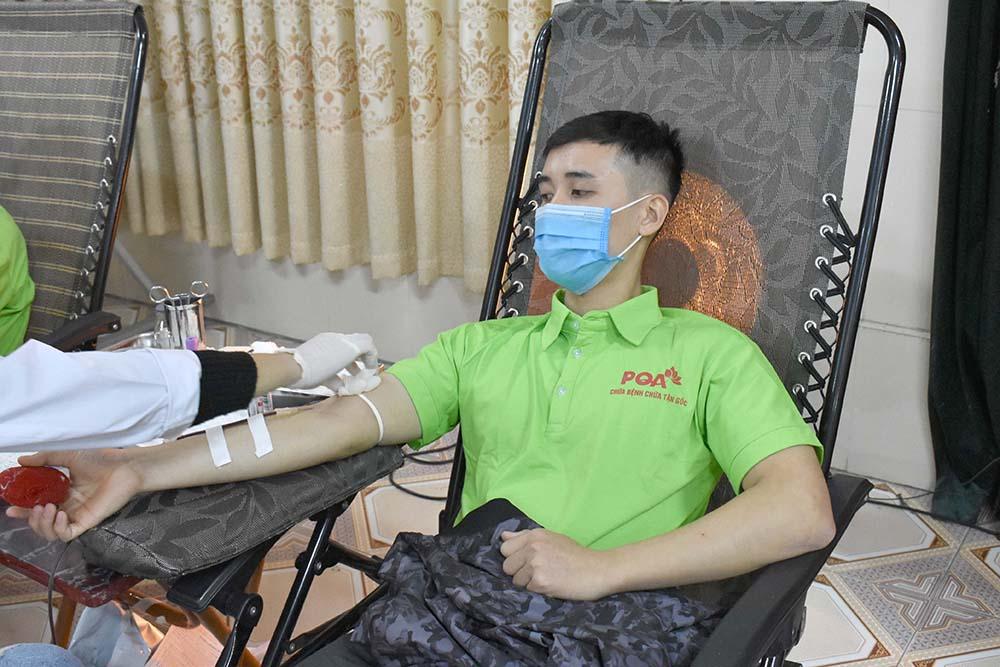dược phẩm pqa hiến máu 2020