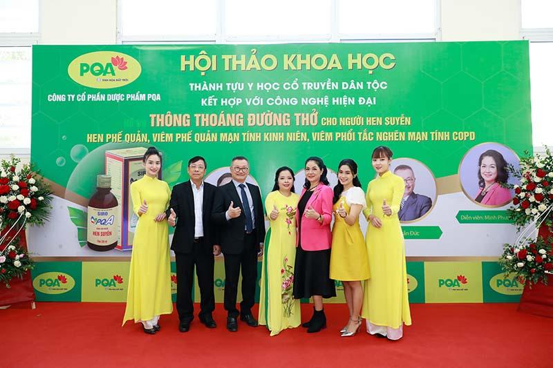 Hội thảo khoa học: Hỗ trợ Thông thoáng đường thở cho người hen suyễn