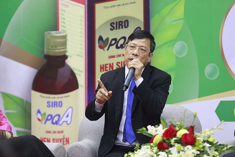 dược phẩm pqa tổ chức hội thảo về hen suyễn 1