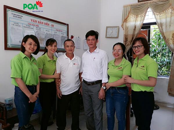 Dược phẩm PQA tặng quà cho các thân nhân gia đình liệt sĩ