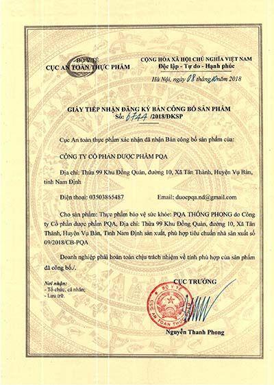 PQA Thống Phong