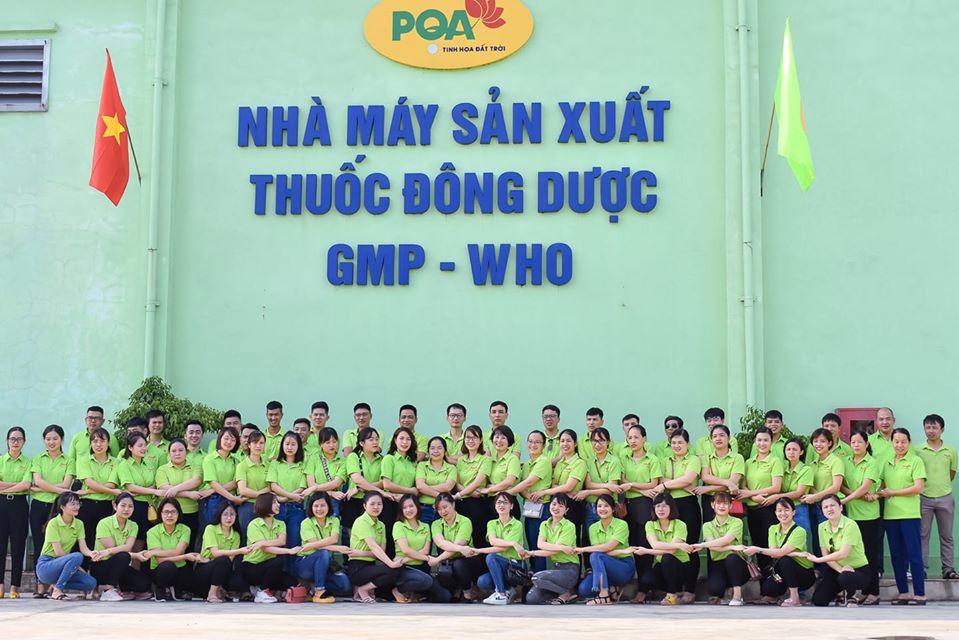 đội ngũ công nhân viên của Công ty PQA