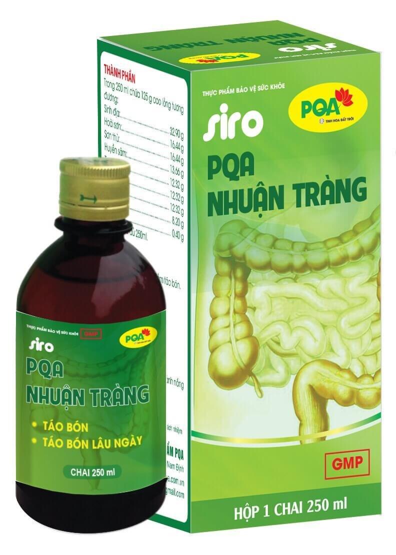Siro PQA Nhuận Tràng 250ml
